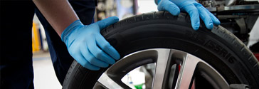 Tyre fitting, Leeds